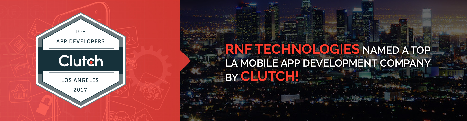 RNF Technologies Named a Top LA Mobile App Development Company by Clutch!
